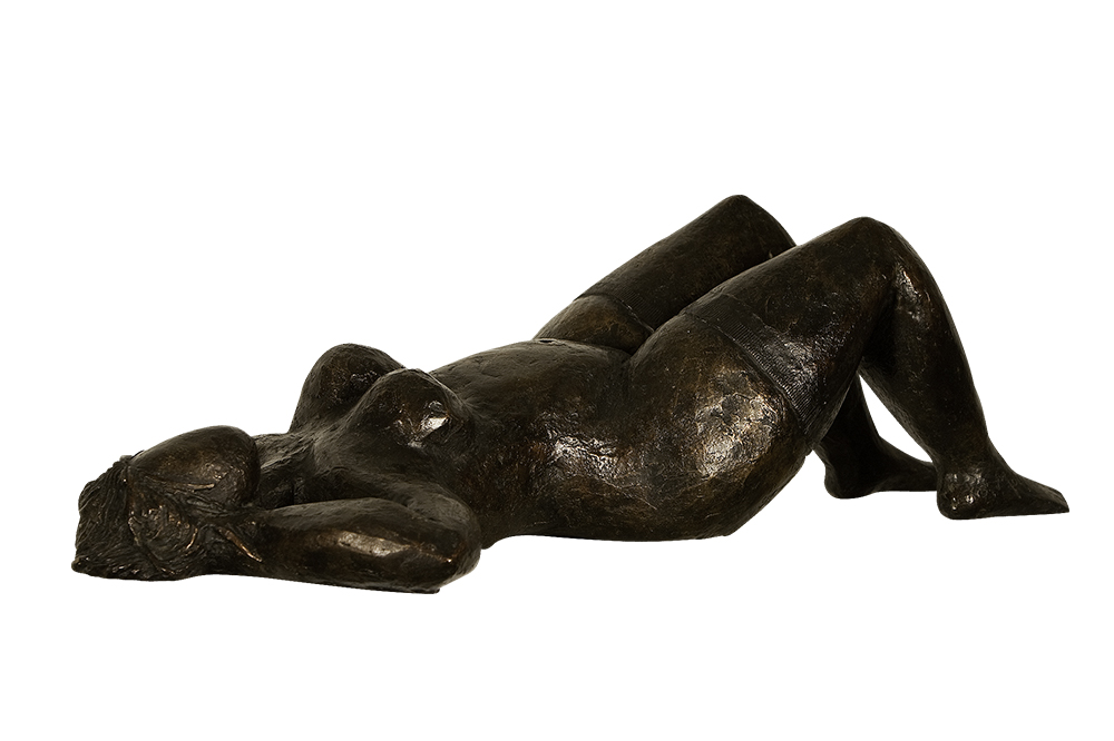 sculpture bronze femme nue