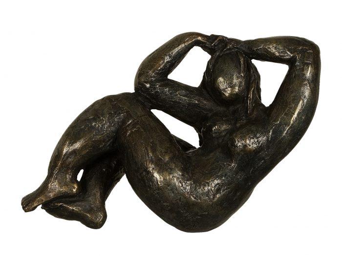 sculpture femme bronze