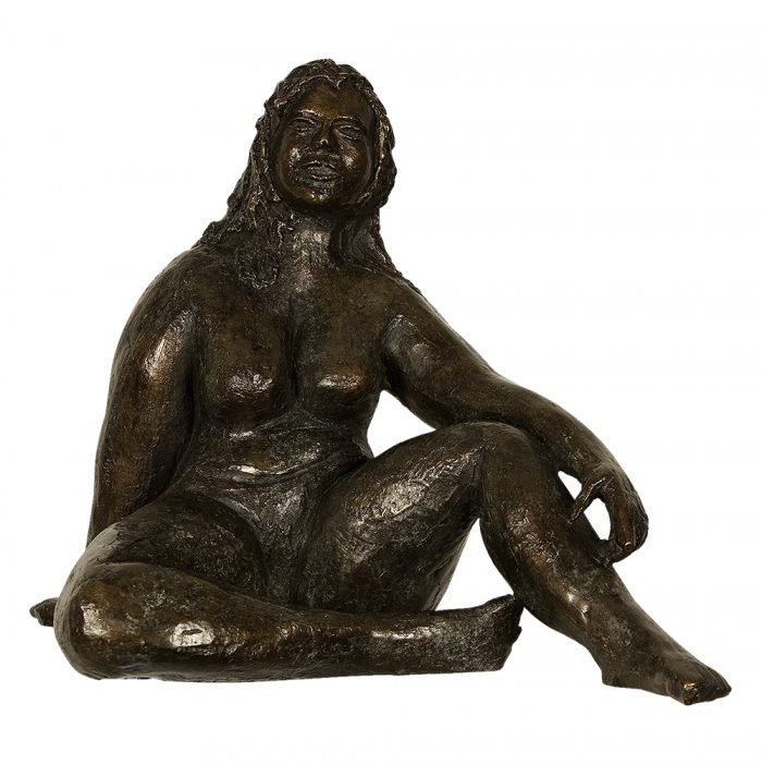 nude woman bronze sculpture