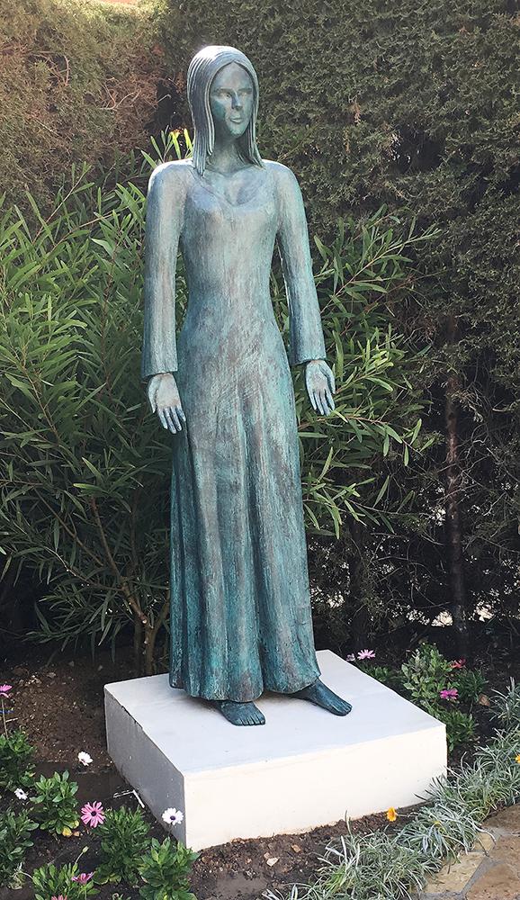 sculpture contemporaine femme
