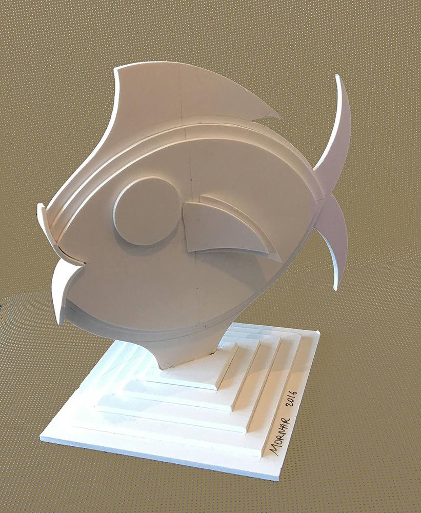 Sculpture Plastique Poisson
